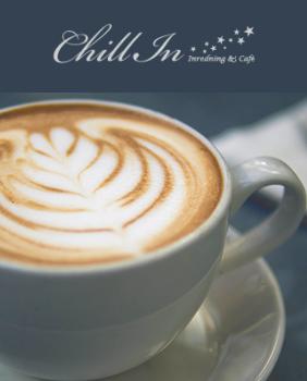 Få lätt frukost på caféet chill in på Haninge|Port73